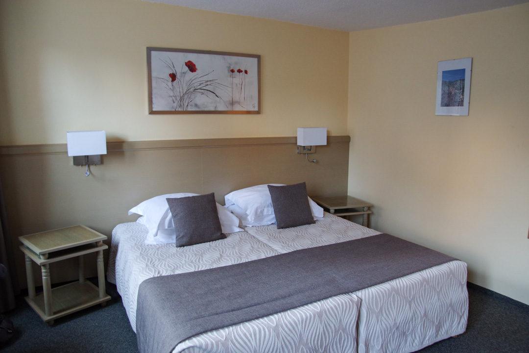 Chambre d'hôtel à l'Auberge des trois Chateau à Eguisheim