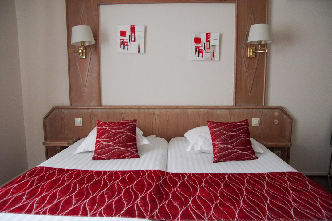 chambre à l'hôtel de la Cloche - Obernai