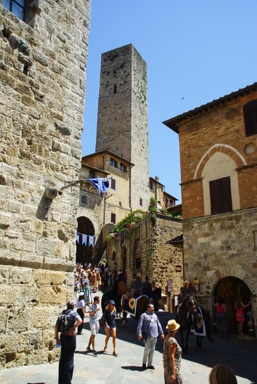 Défilé Médiéval - San Gimignano - Italie