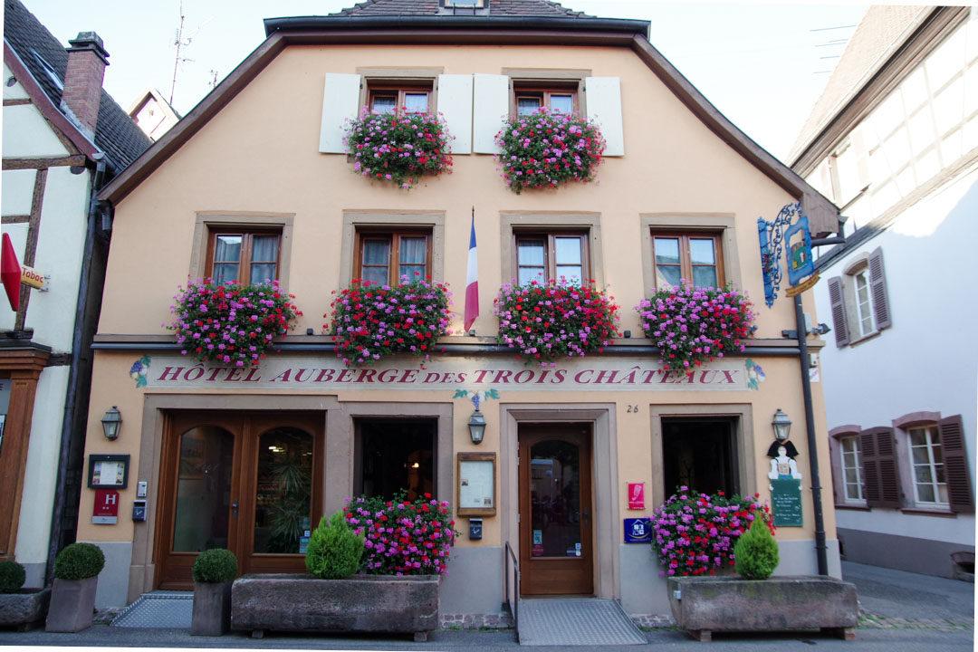 Auberge des Trois Chateaux - Eguisheim