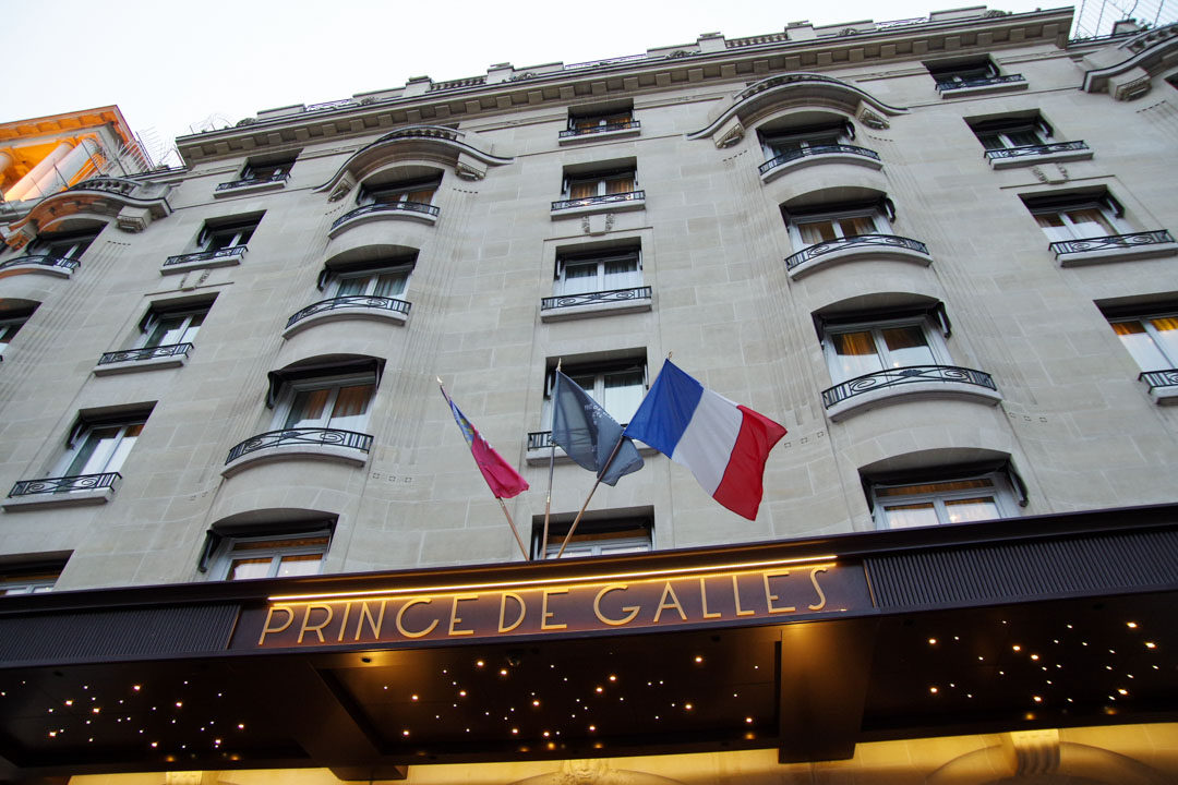 L'Hôtel du Prince de Galles - Paris