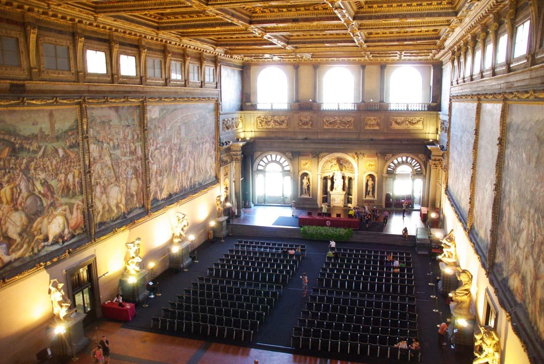 Intérieur du Palazzo Vecchio à Florence