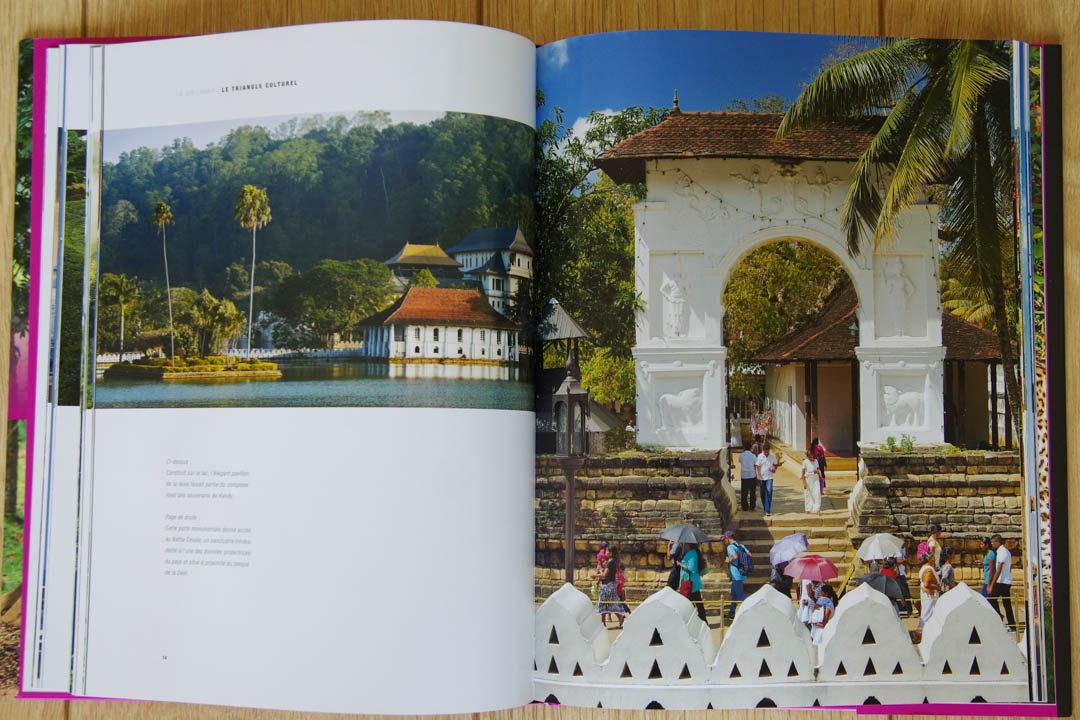Intérieur de la collection Grands Voyageurs - Sri-lanka