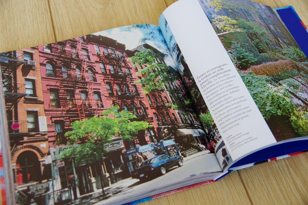 intérieur du livre Voyage Voyage sur New York