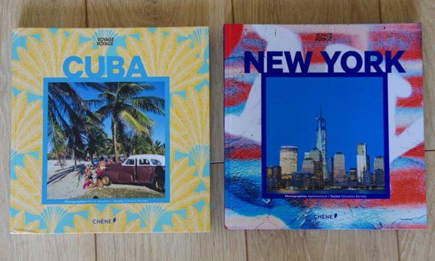 Deux collections de Beaux Livres voyage aux éditions du Chêne + CONCOURS