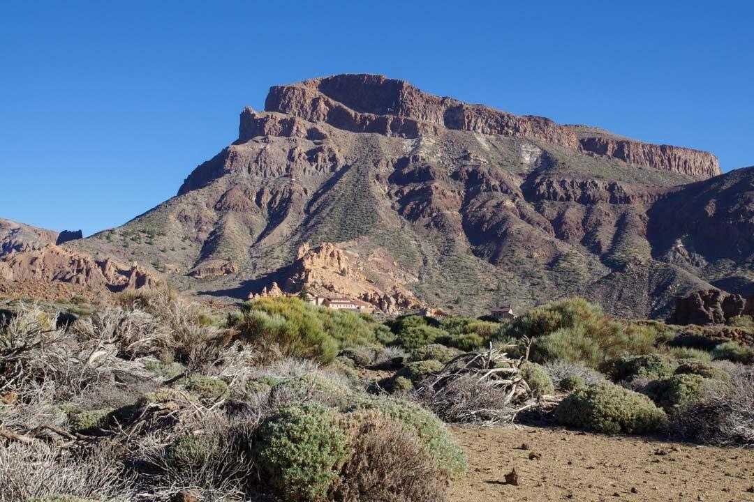La montagne de Guajara