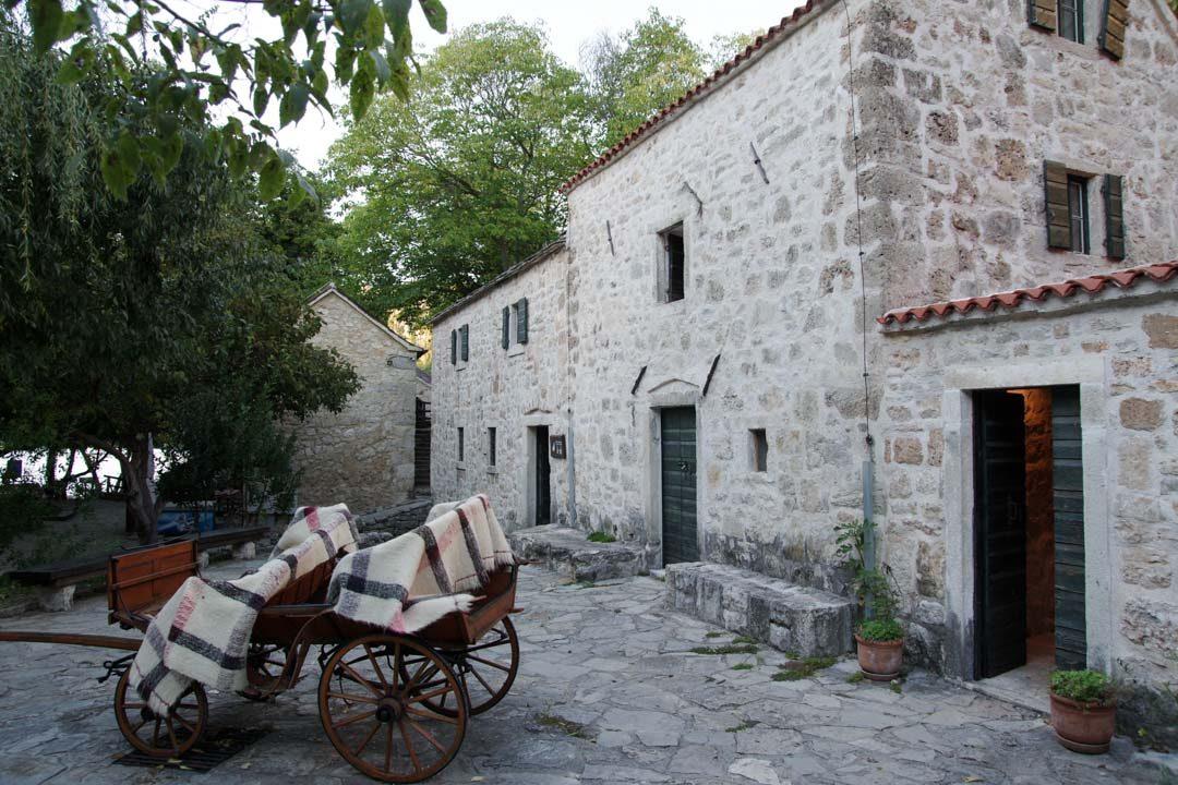 un vieux moulin près de la rivière Krka