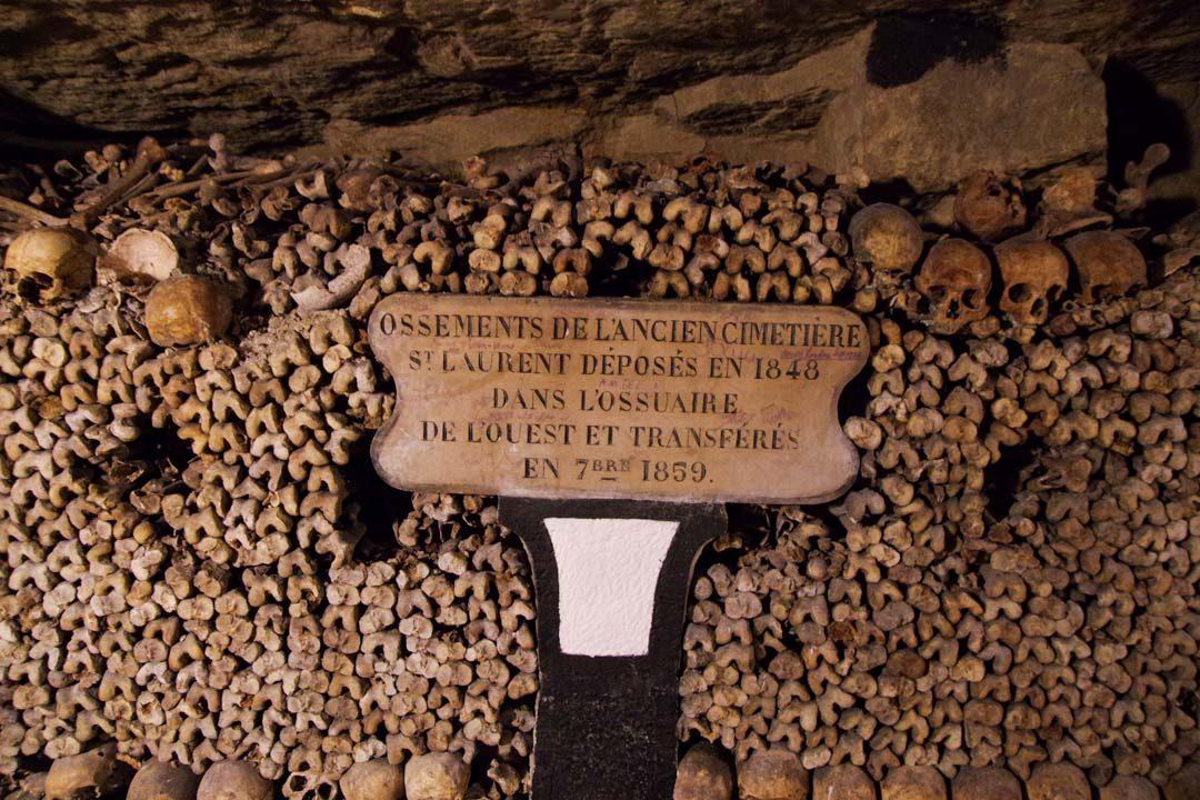 Ossuraire des Catacombes de Paris