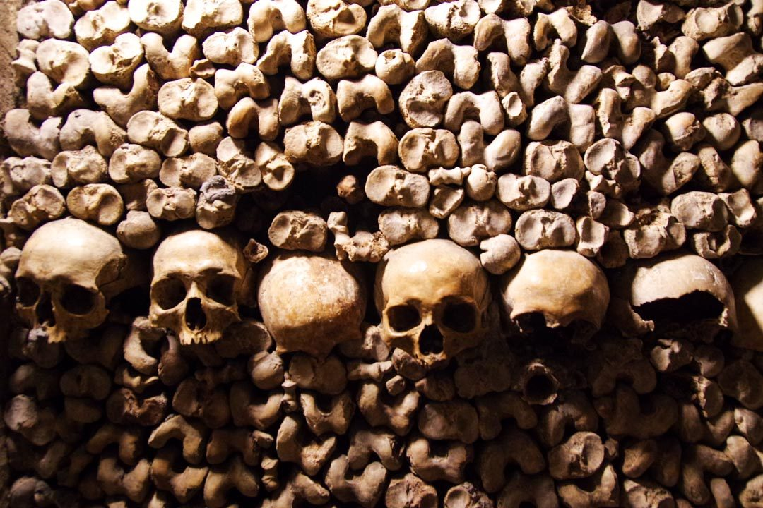 Ossuaire des Catacombes de Paris