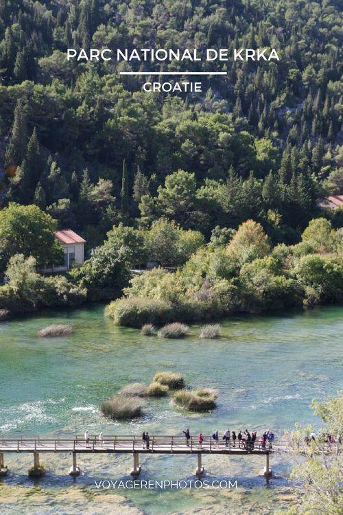 Visite du Parc national de Krka en Croatie