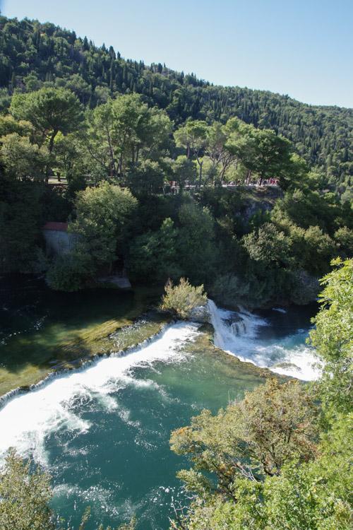Rivière Krka en Croatie