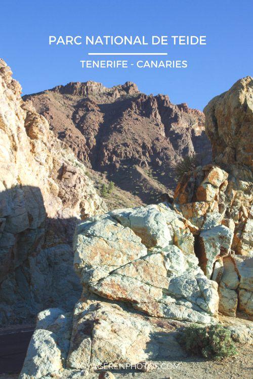 Que voir au Parc National du Teide - Tenerife - Archipel des Canaries
