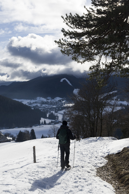 Randonnée en Raquette dans le Vercors entre Autrans et Méaudre