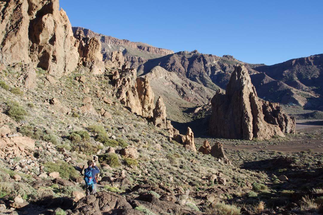 randonnée de Roques de Garcia dans le parc Teide de Tenerife
