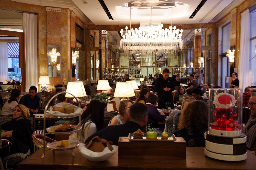 Restaurant les heures - Princes de Galles - Paris