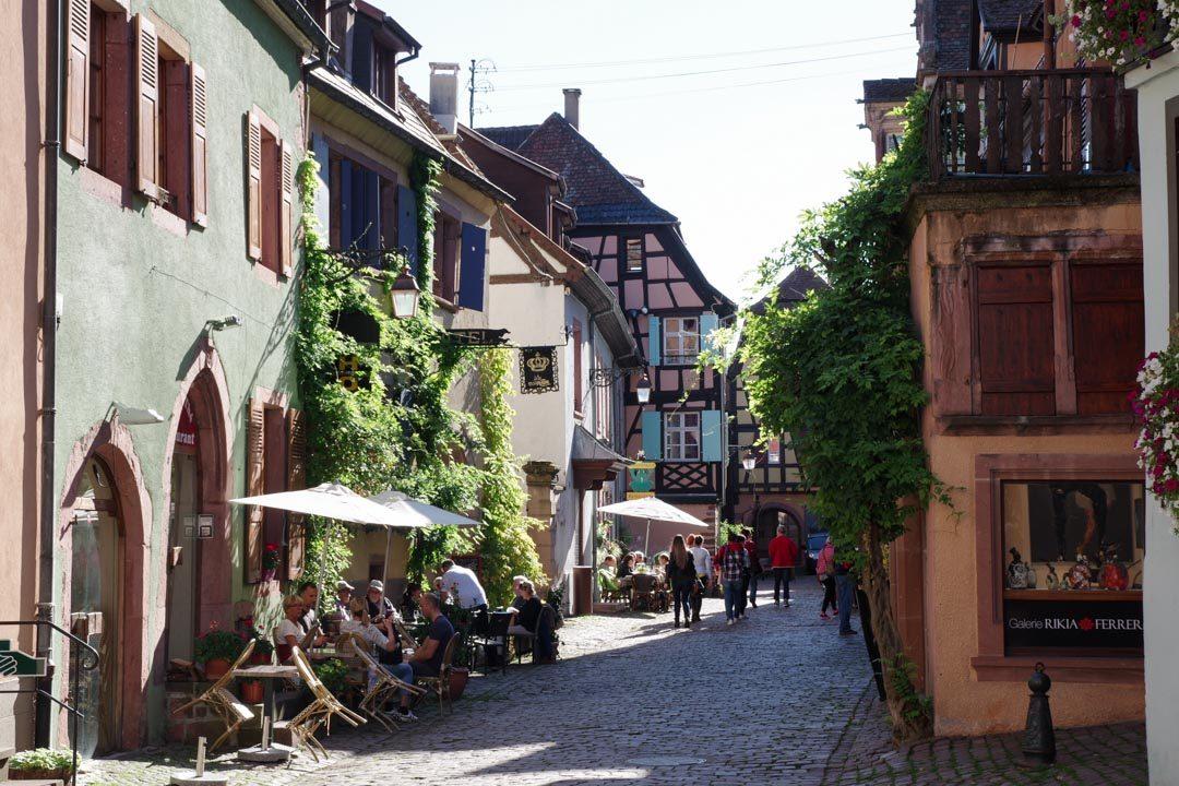 le village de Riquewihr en Alsace