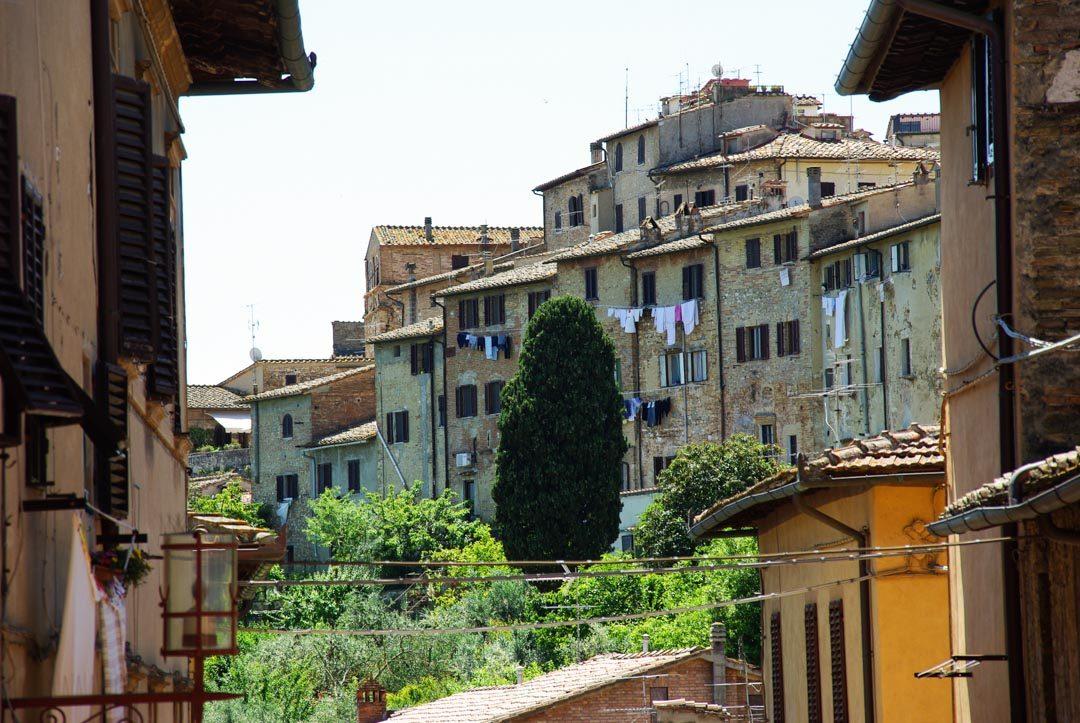le village médiéval de San Gimignano en Toscane