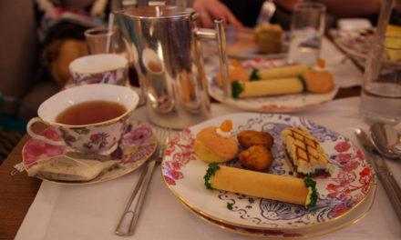 Un Tea Time au Prince de Galles