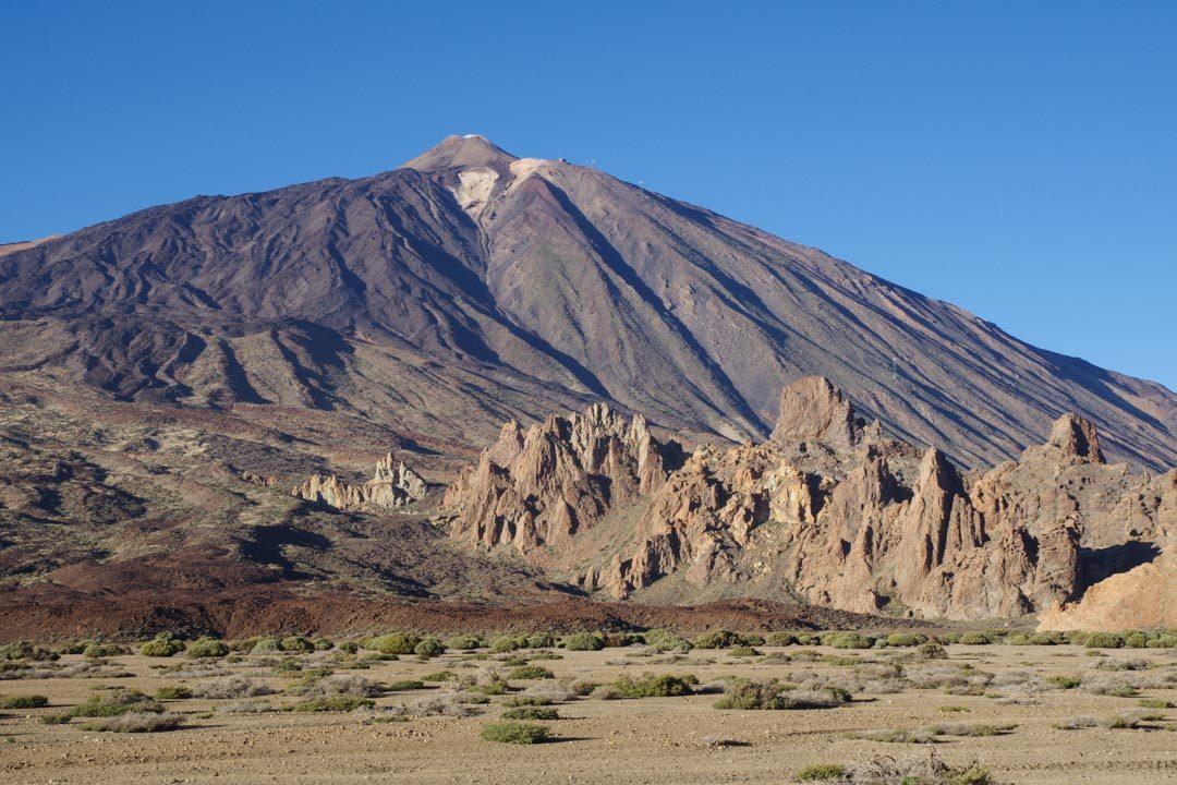 vue sur le Teide et les Roques de Garcia