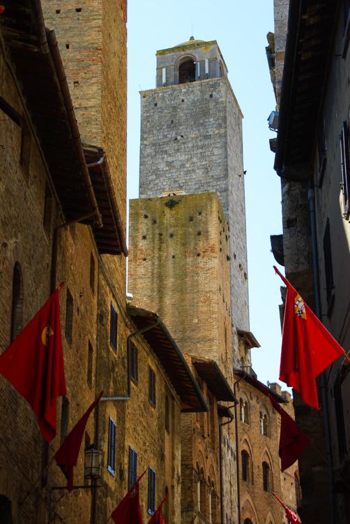 les tours de San Gimignano - Toscane