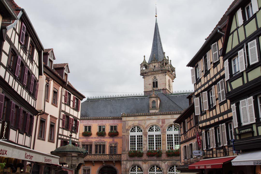 place centrale d'Obernai