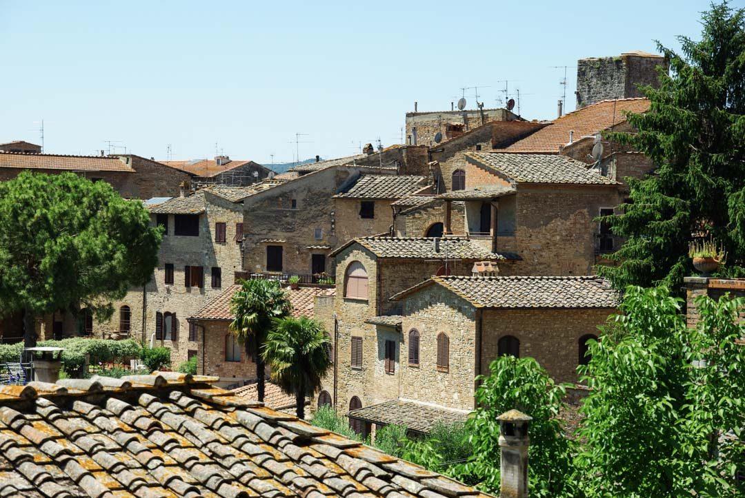 Village de San Gimignano -Toscane - Italie