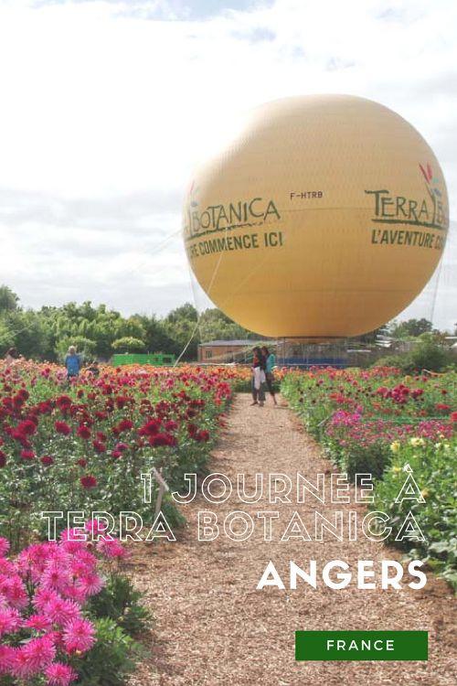 Une journée dans le Parc Terra Botanica à Angers - France