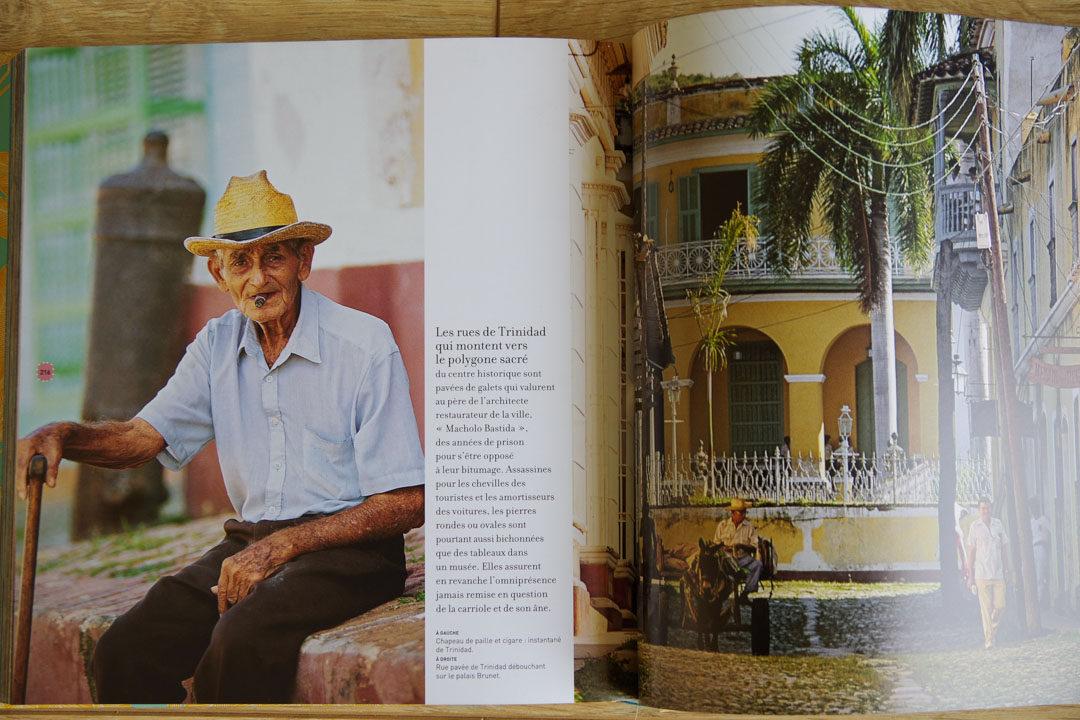 intérieur du livre Voyage Voyage sur Cuba