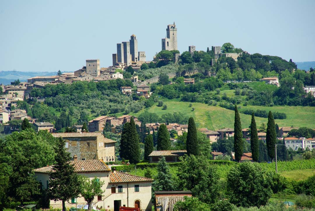 les tours du village de San Gimignano