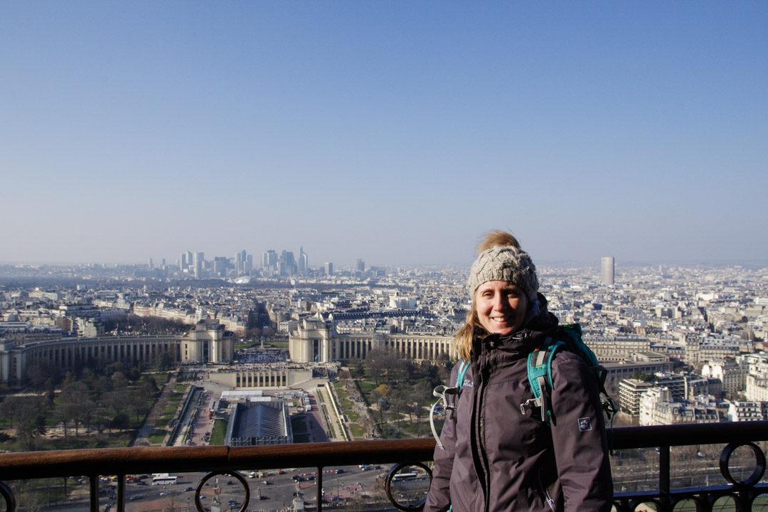Au deuxième étage de la Tour Eiffel