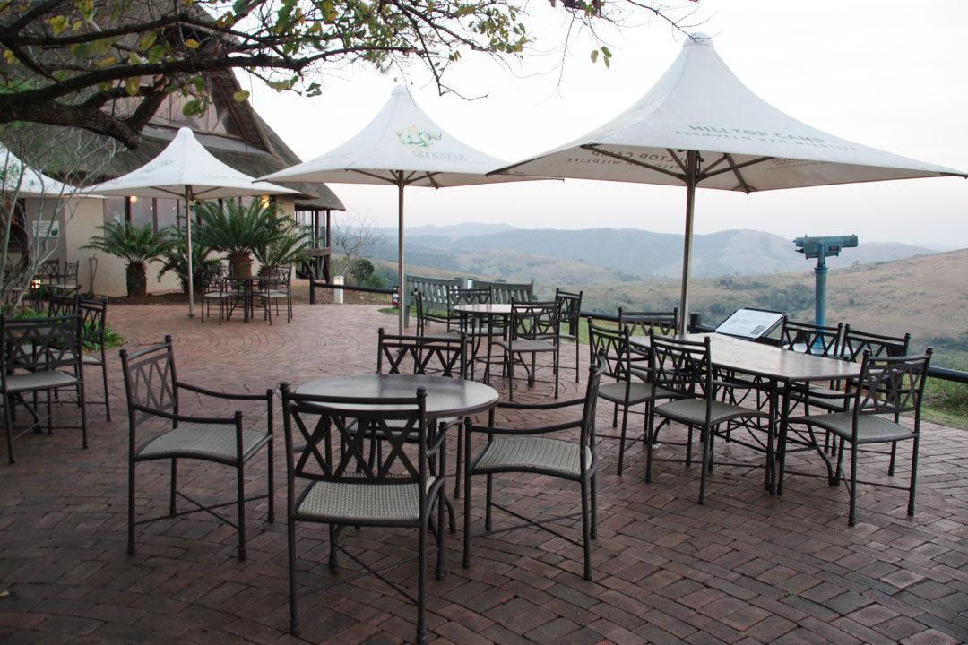 Terrasse panoramique du restaurant de HilltopRest Camp