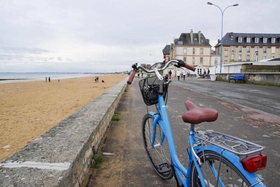 les plages de normandie à Vélo
