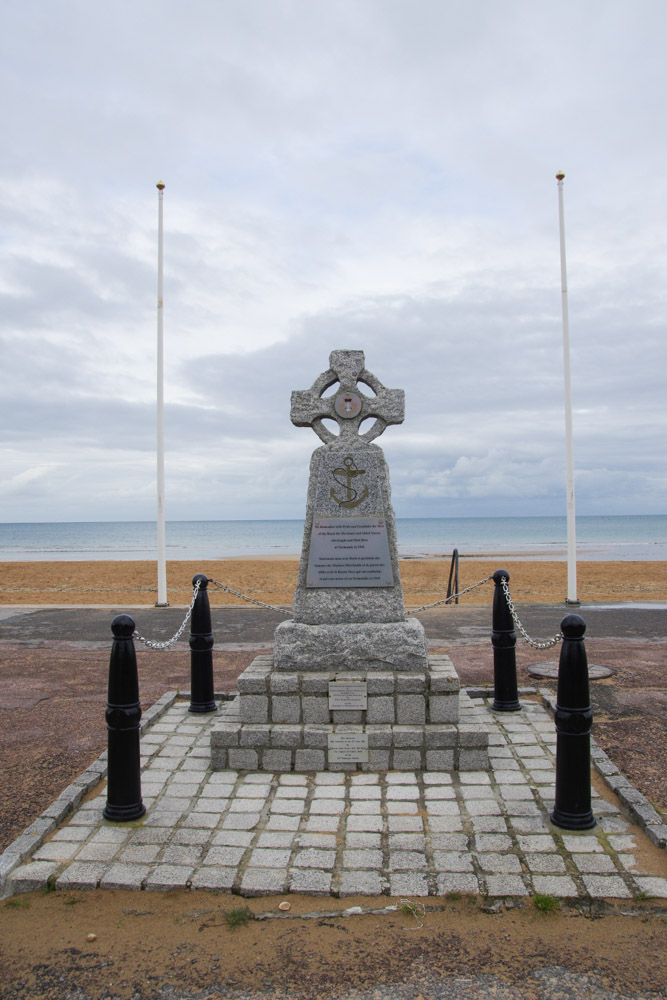 Monument en mémoire du débarquement - Sword Beach