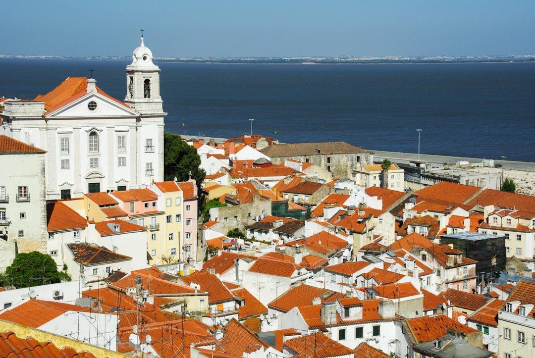 Mirador Santa Luzia - Lisbonne