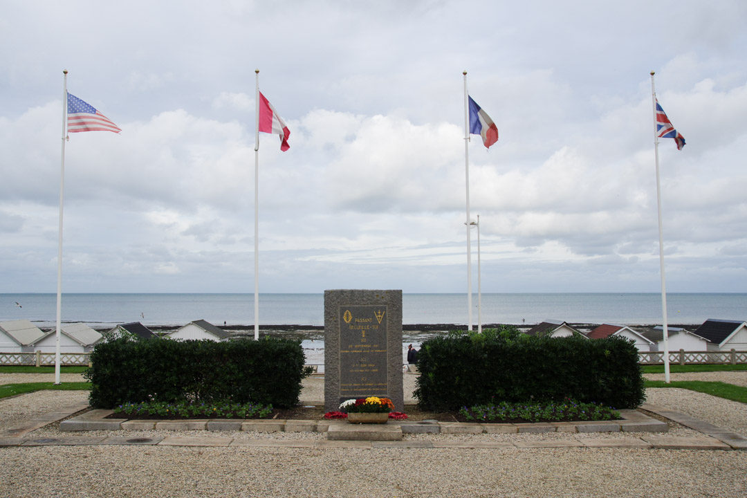 Monument aux morts - débarquement 1944