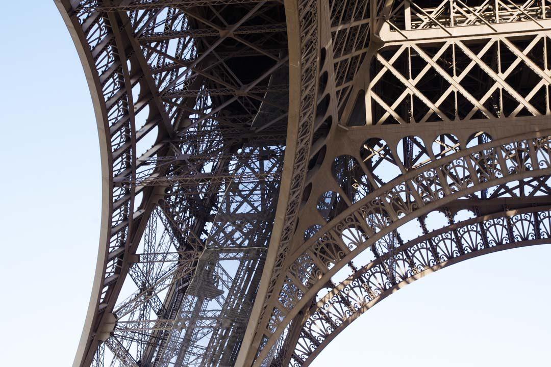 Pilier Nord de la Tour Eiffel