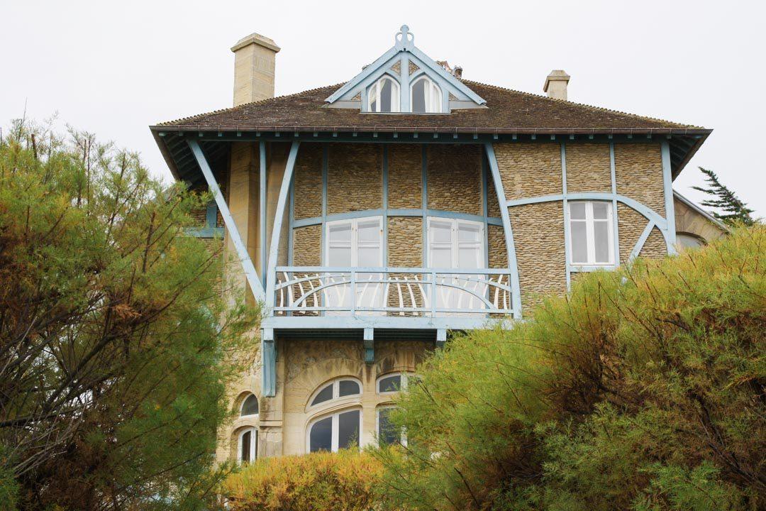 un villa de villégiature en style Art Nouveau