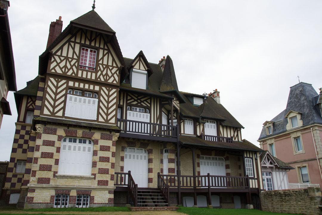 villa de villégiature sur la côte Normande