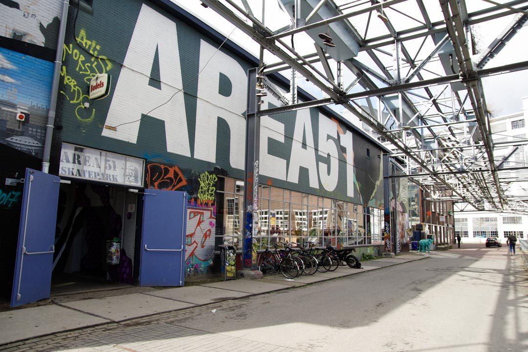 Area 51 - Skate Park - Strijp - S - Eindhoven