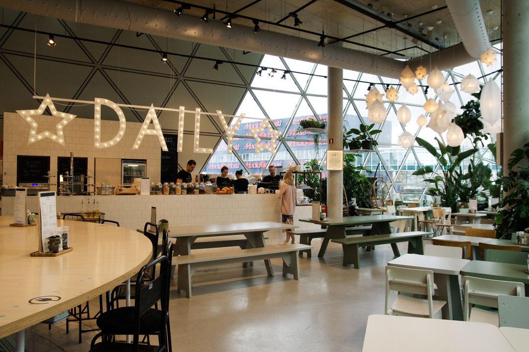 Espace café du magasin Sissy-Boy à Eindhoven