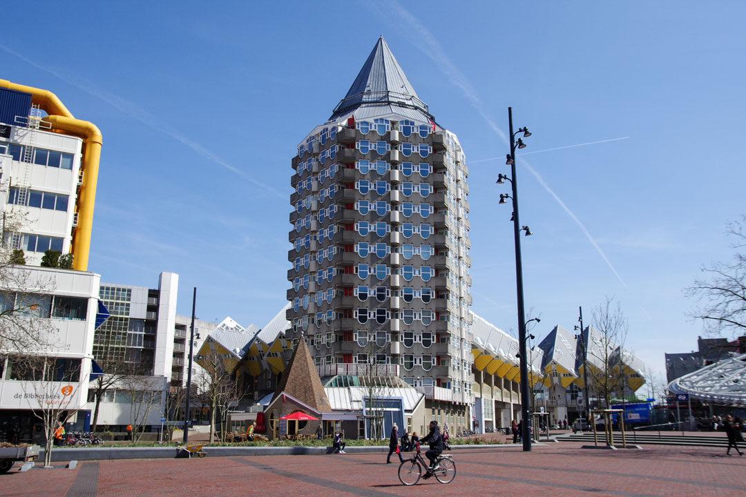 Le Centre Ville de Rotterdam