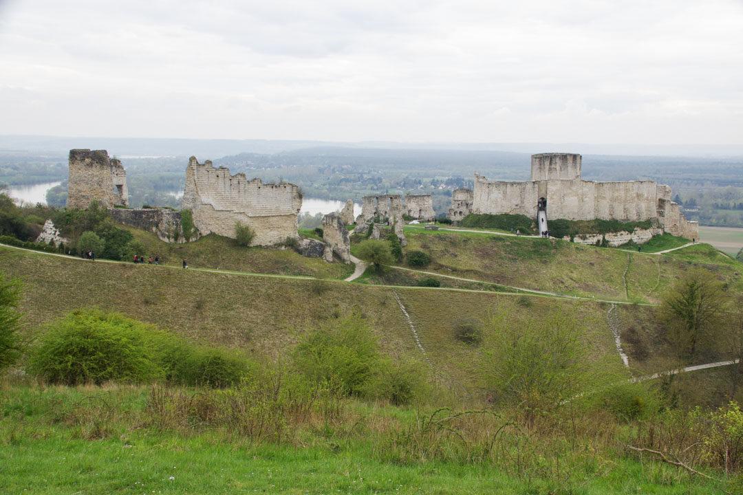 Chateau Gaillard dans l'Eure