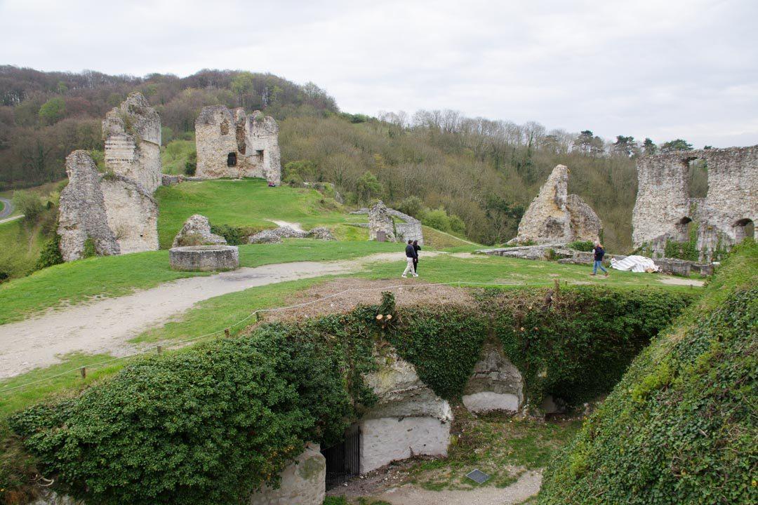 Ruines du Chateau Gaillard - Eure