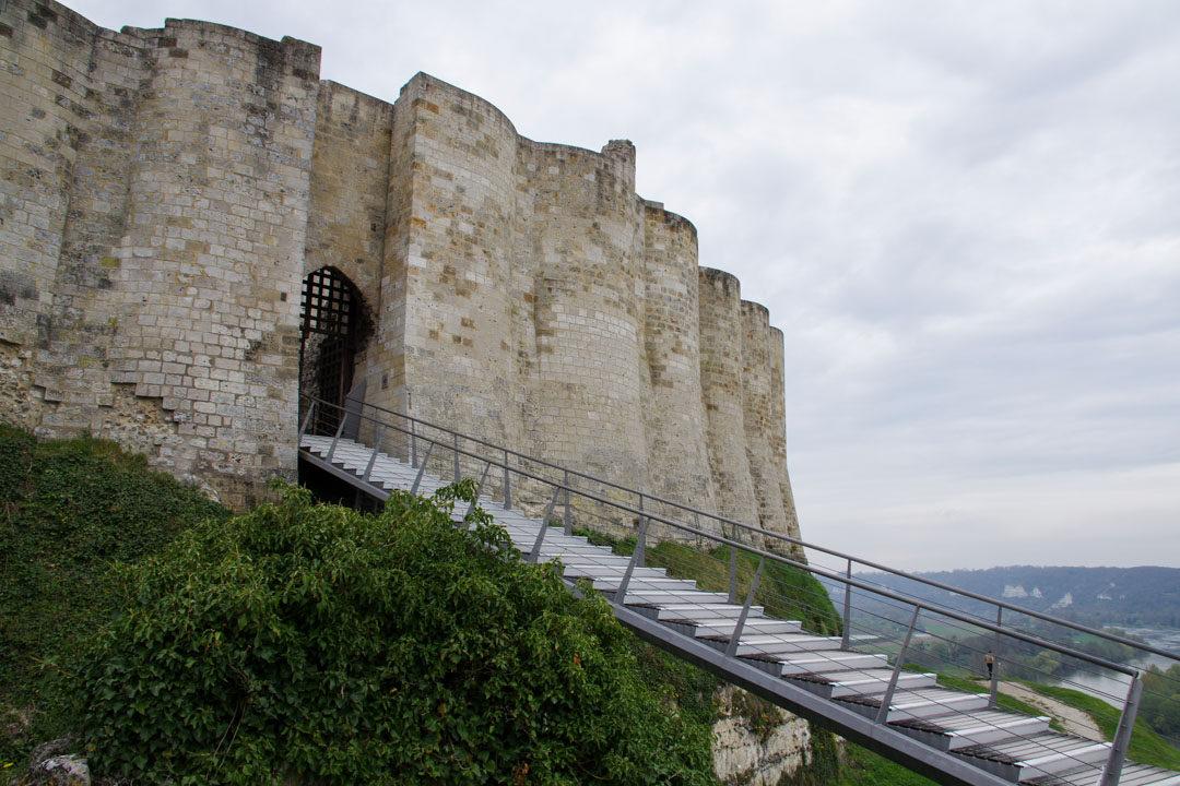 La Haute Cour de Château Gaillard - Eure