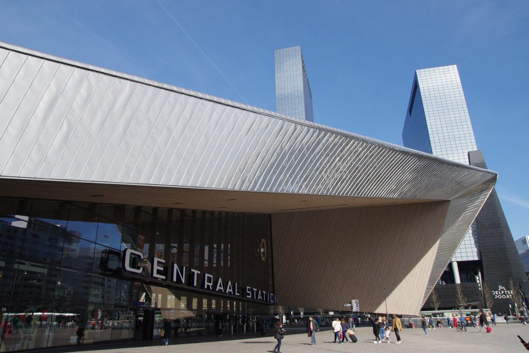 La Gare de Rotterdam Centrale