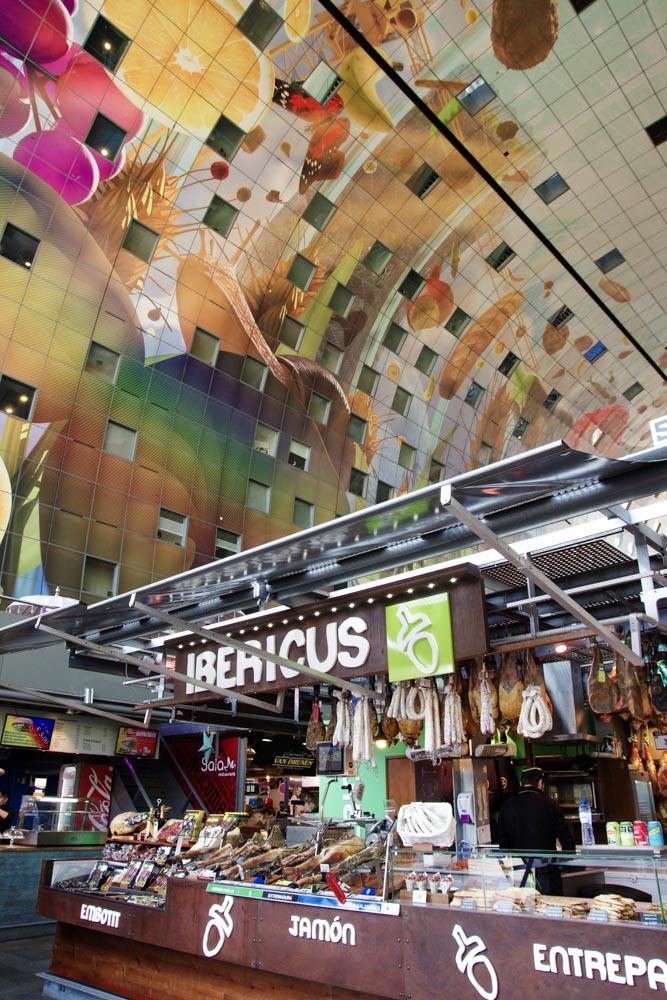 Intérieur de Markthal - Rotterdam