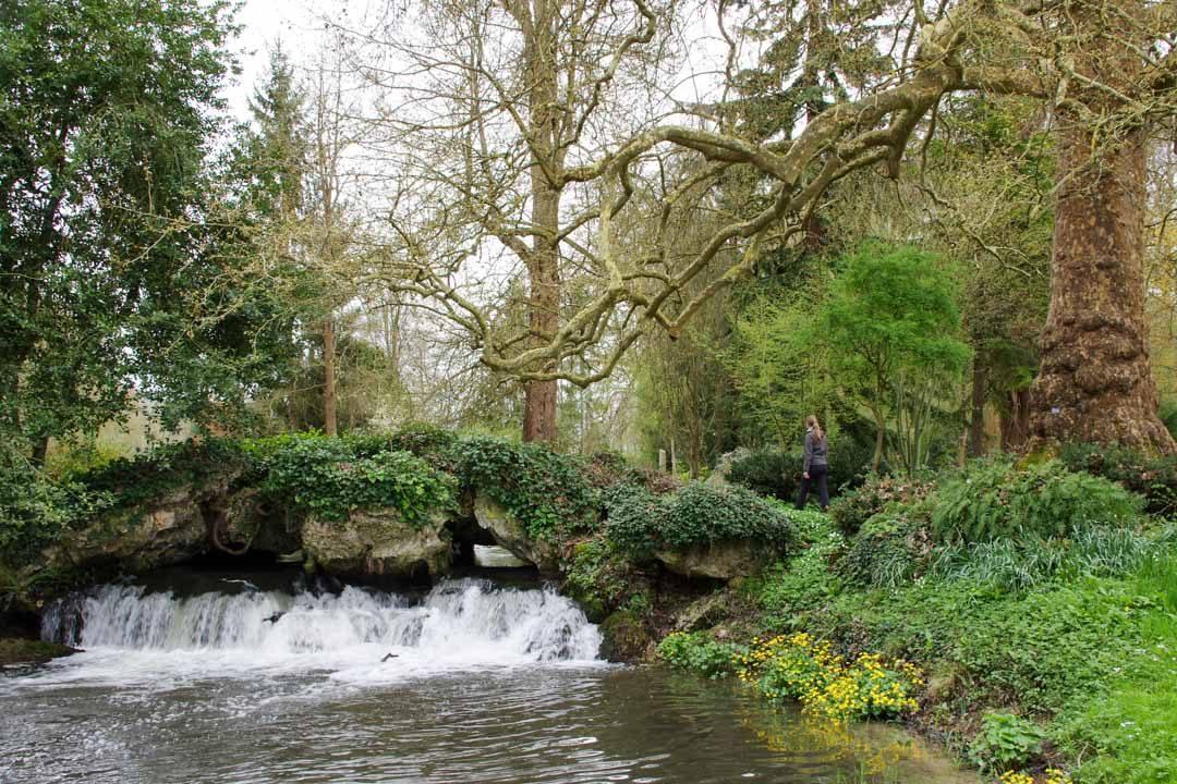 Jardin du chateau d'Acquigny