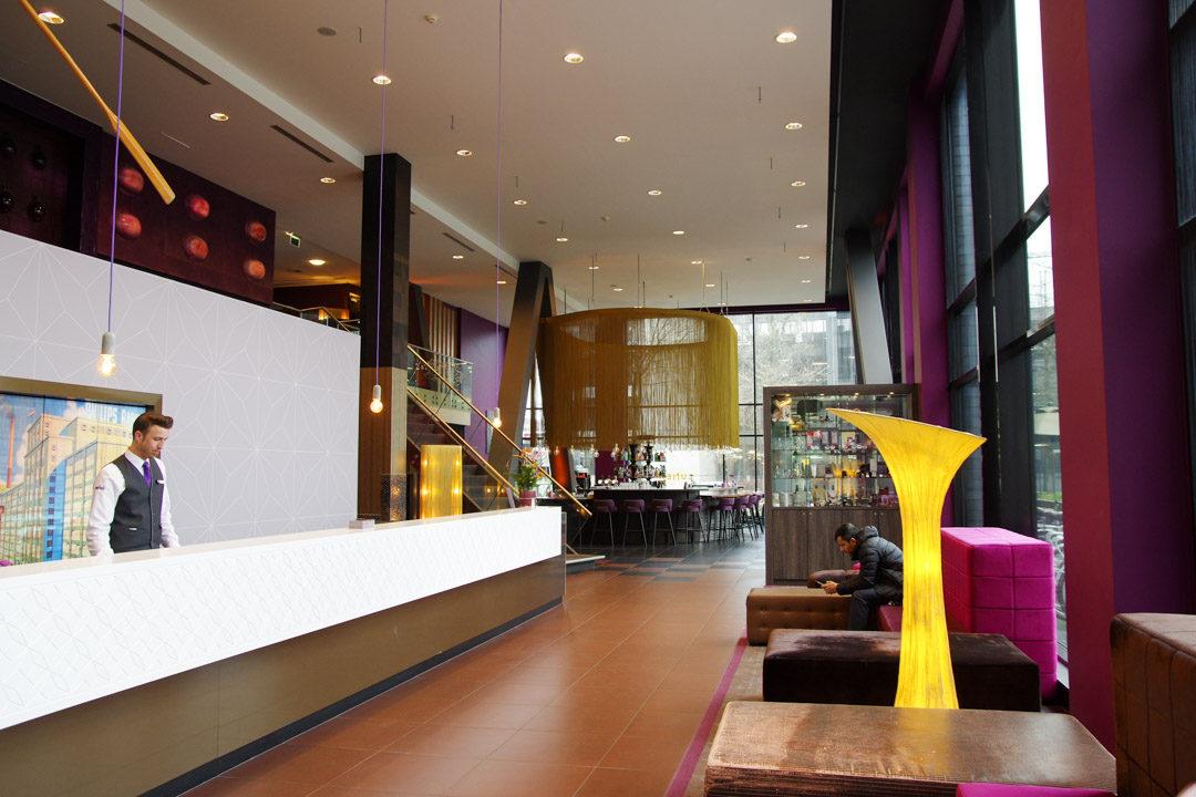 Lobby Inntel Hotels Art Eindhoven