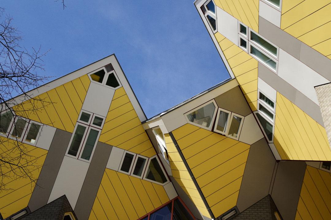 Les maisons cubiques de Rotterdam