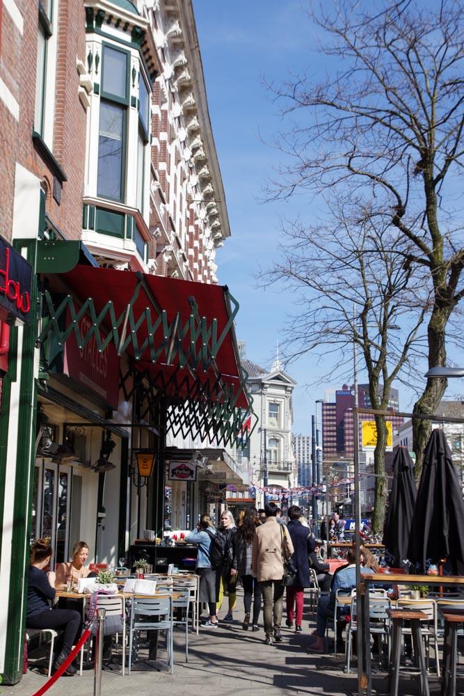 Rue de Nieuwe Binnenweg à Rotterdam